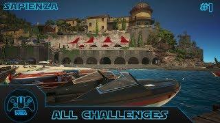 Hitman - All Challenges - Episode 2 Sapienza - Part 1