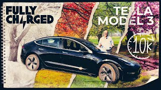 Positives and negatives of the Tesla Model 3 at 10k miles | Fully Charged