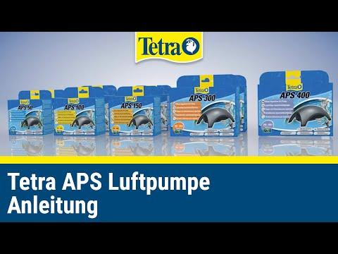 Mehr Sauerstoff im Aquarium | Tetra APS Luftpumpe Anleitung