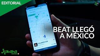 BEAT llega a MÉXICO, probamos el UBER de MERCEDEZ BENZ