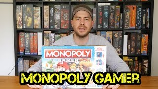 Monopoly Gamer - Brettspiel - Review - Boardgame Digger