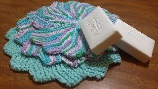 FREE Knitting Tutorial: Dishcloth Or Washcloth