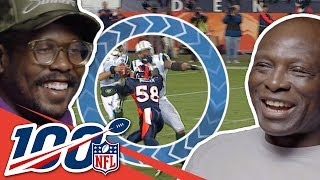 Bruce Smith & Von Miller Can't Stop Complimenting Each Other   NFL 100 Generations