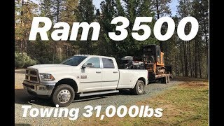 HEAVY HAUL!! RAM 3500 TOWING 31,000LBS..GAME CHANGER