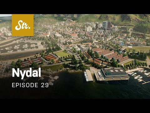 Row Houses — Cities Skylines: Nydal — EP 29