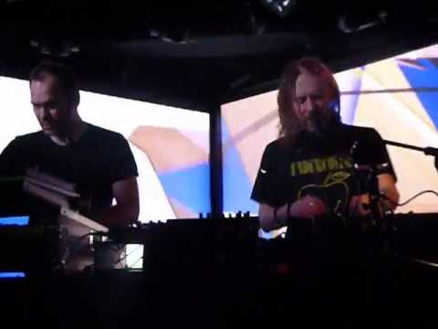 Thom Yorke & Nigel Godrich - Stuck Together Pieces - Le Poisson Rouge - 3/14/13