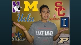College Decision Reactions 2018 (UCLA, USC, Northwestern and more)