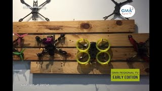 GMA Regional TV Early Edition: First Person View (FPV) Drone Racing, Talakayon ta!