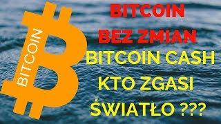 Bitcoin: Wciąż Spokojnie, Bitcoin Cash Kto zgasi światło ? BTC analiza 08.11.2018
