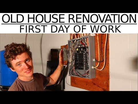 Old House Renovation - First Day of Work! - #3