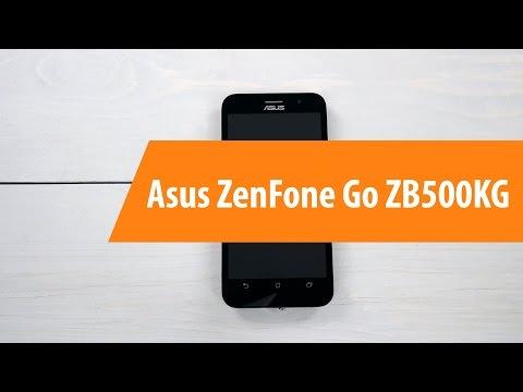 Распаковка Asus ZenFone Go zb500kg / Unboxing Asus ZenFone Go zb500kg