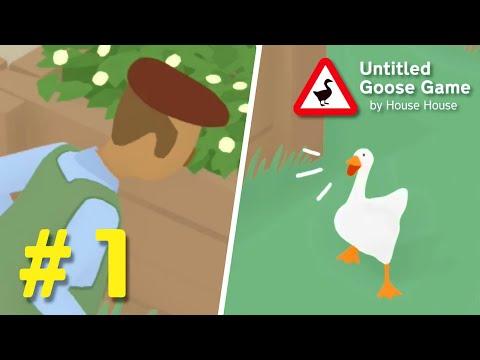 , title : 'ガチョウになって人間にイタズラをするゲーム #1【Untitled Goose Game】