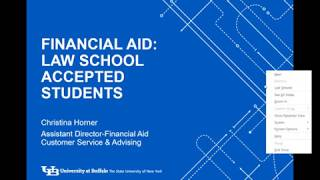Financing your Education Webinar