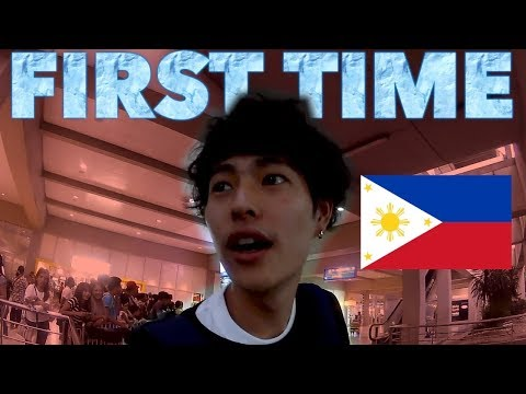 THIS IS THE FIRST TIME TO COME TO PHILIPPINES!!