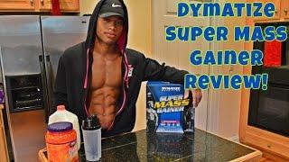 Dymatize Nutrition Super Mass Gainer Review- CARBS FOR MASS!