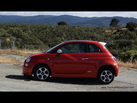 2014 Fiat 500e Electric Review & Road Test