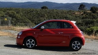 2013-2014 Fiat 500e Electric Review and Road Test