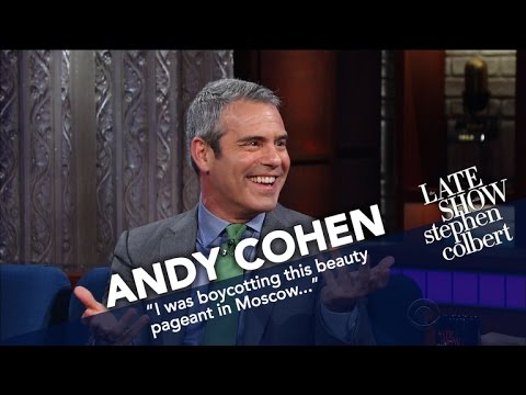 Andy Cohen Says Trump Has Some 'Real Housewives' Tendencies