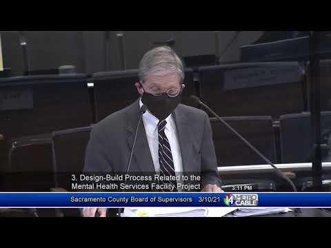Sacramento County Board of Supervisors - March 10, 2021