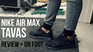 My Favorite Back To School Shoe - Nike Air Max Tavas + On Foot!