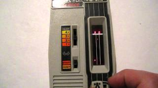 Mattel Electronics Auto Race Demo 1976