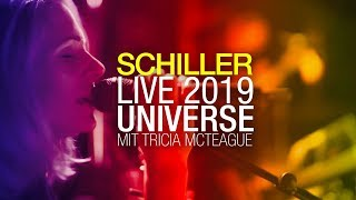 """SCHILLER Live 2019: """"Universe"""" // with Tricia McTeague // 4K"""