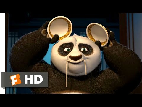 Kung Fu Panda (2008) - Impersonations at Dinner Scene (5/10) | Movieclips
