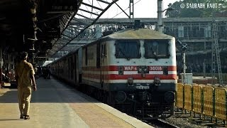 preview picture of video 'Premium Rajdhani Skips Borivali On The Day When King Rajdhani Will Get Its Halt Here!'