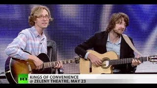 Kings of Convenience play Cayman Islands exclusively for Prime Time