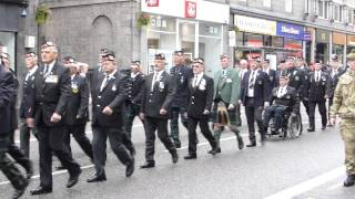 preview picture of video 'Aberdeen Armed Forces Day Parade 29th June 2014 1 of 2 HD'
