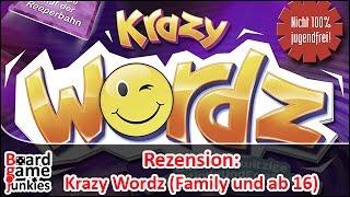 [Rezension] Krazy Wordz - Empfohlen vom Spiel des Jahres - Fishtank / Ravensburger - Brettspiele