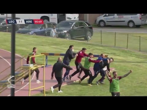 Legnago-Arezzo 1-1, la sintesi della partita