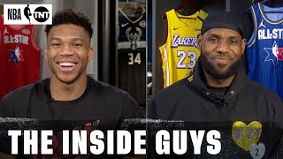 NBA All-Star Draft With LeBron & Giannis: Round 2 | NBA on TNT