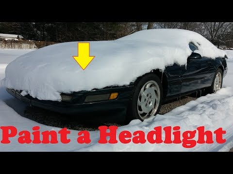 1995 Corvette headlight repair Part 3