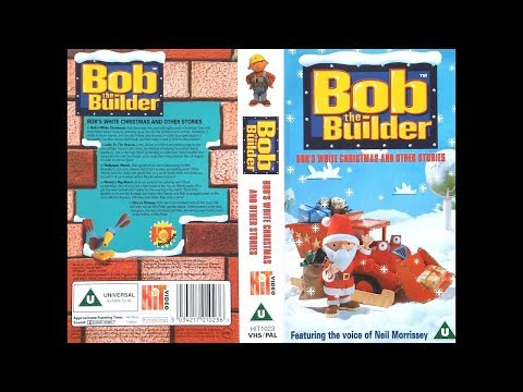 Bob the Builder Bob's White Christmas and other stories (UK VHS 1999)