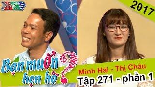 Cô gái phát khóc khi nghe tật xấu của chàng trai và kết quả là... | Minh Hải - Thị Châu | BMHH 271