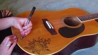 Redoing My Guitar Art