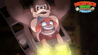 OKAY THIS GAME IS GETTING WAY TOO HARD!! [DONKEY KONG: TROPICAL FREEZE] [#03]