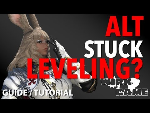 FFXIV How do I level Alt Jobs? [Leveling Guide] with Work to Game