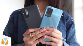 Realme 8 5G VS Xiaomi Redmi Note 10 5G Comparison Review