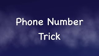 I Can Guess Your Phone Number (10 digits) - Math Tricks Magic - I Can Guess Your Number Trick