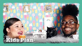 Parents Go on a Bizarre Date at a Cat Cafe | Kids Plan | HiHo Kids