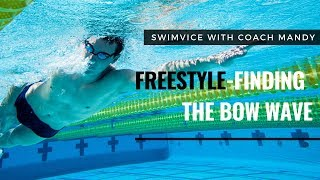 Freestyle Breathing - Finding the Bow Wave | SWIMVICE with Coach Mandy