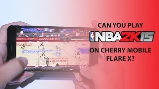 NBA2K15 on Cherry Mobile Flare X