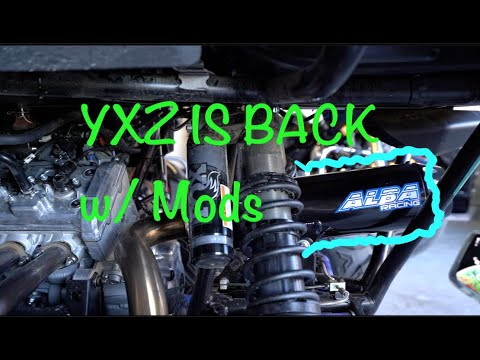 She's Baaaack! 2019 Yamaha YXZ Modifications - James&MoVlogs