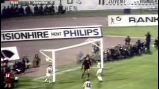 Ajax - Juventus. EC-1972/73. Final