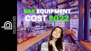 How Much Does Bar Equipment Cost to Build a Bar?
