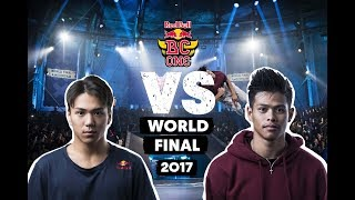 B-Boy Issei Vs B-Boy Willy | Red Bull BC One World Final 2017 | Top 16
