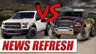 Ram Rebel TRX vs 2017 Ford Raptor: Can the Rebel TRX Dethrone the King?