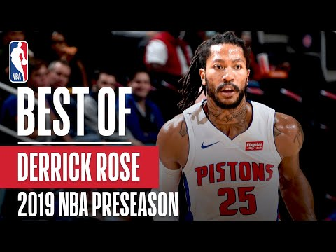 BEST OF DERRICK ROSE From 2019 NBA Preseason